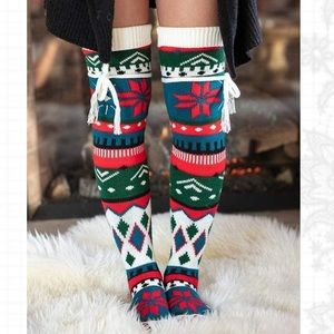 Grace & Lace Thigh High Boot Socks